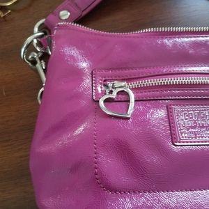 Poppy Coach Bag berry pink